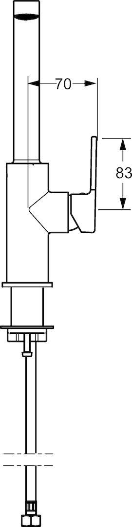 Hansa Ligna 55282203/robinet